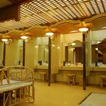 パウダールーム〜女性大浴場