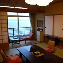 海の見える部屋一例