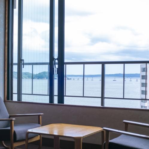 海も見える部屋(街側)景観一例