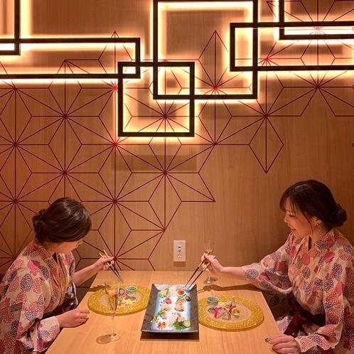デザイナーズルームで過ごす寛ぎの食空間☆個室ダイニング「彩」2020年3/20オープン