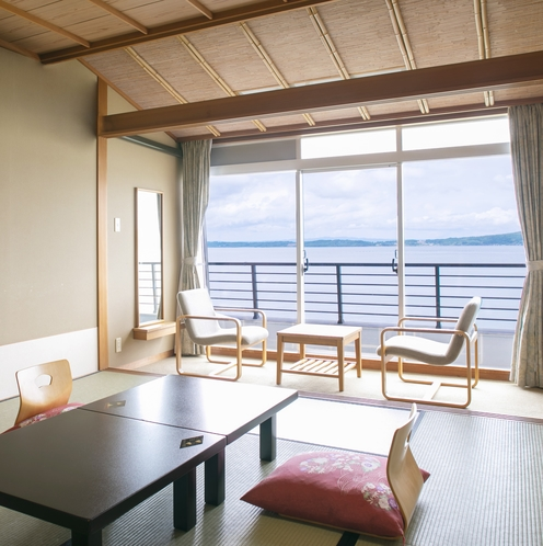 海の見える部屋(海側)客室一例