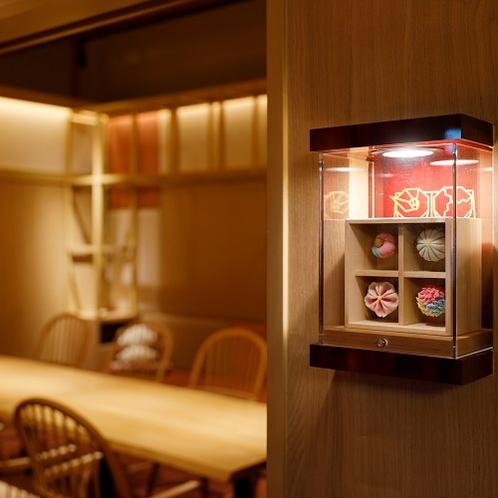 デザイナーズルームで過ごす寛ぎの食空間~個室ダイニング「彩」 客室名は郷土のアイコン♪