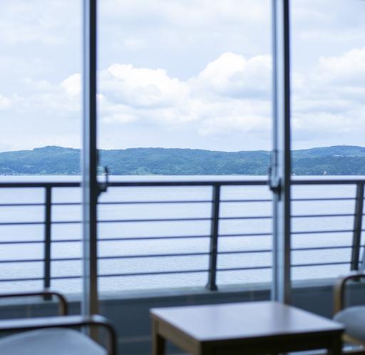 海側客室からの景観一例