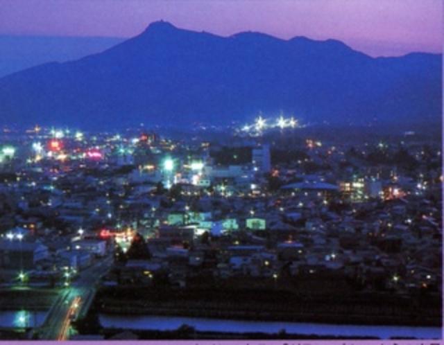 むつ市の夜景