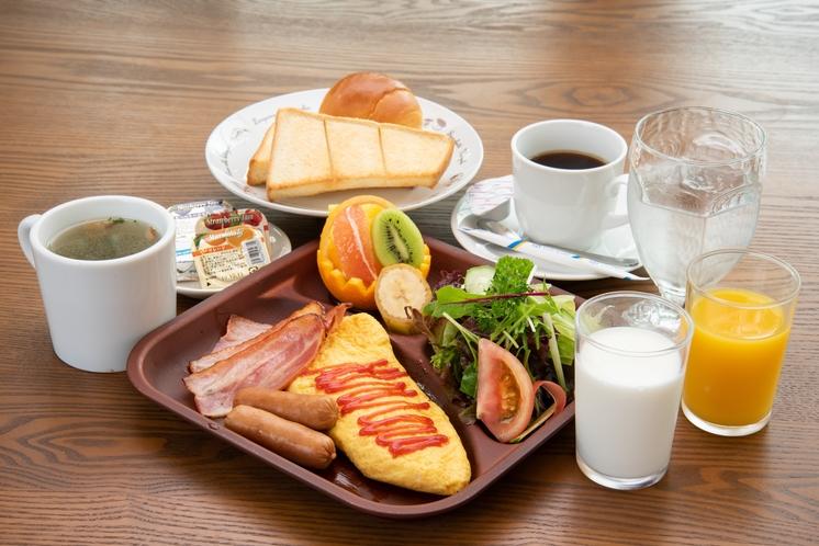 朝食一例(料理写真はイメージです)