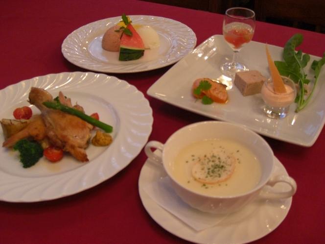 ディナーの一例