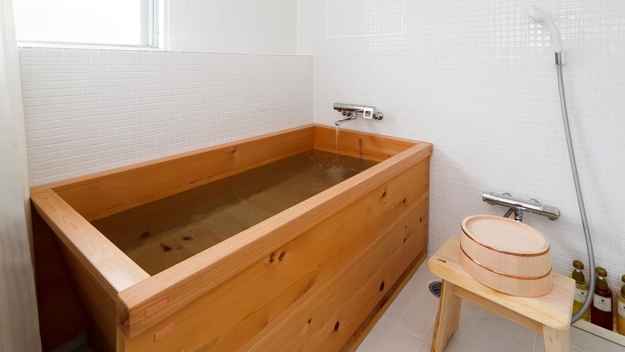 【海側客室】16畳和洋室 檜風呂