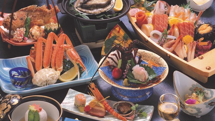 海鮮磯料理例