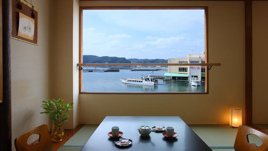 【海側客室】16畳和洋室 シモンズ製マットレス2台 檜風呂洗浄トイレ 禁煙