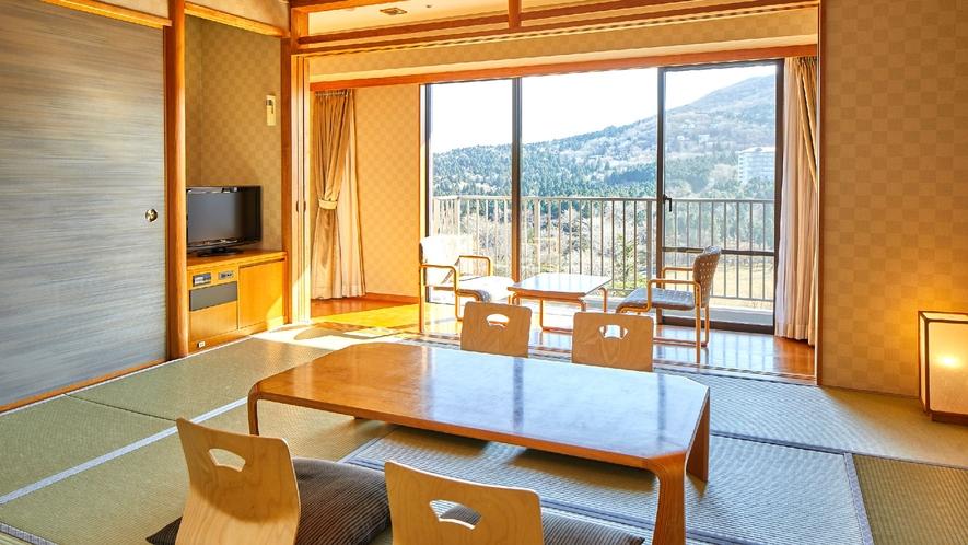☆【客室】和室 富士山や天城山系の壮大な眺望が広がる和室(一例)