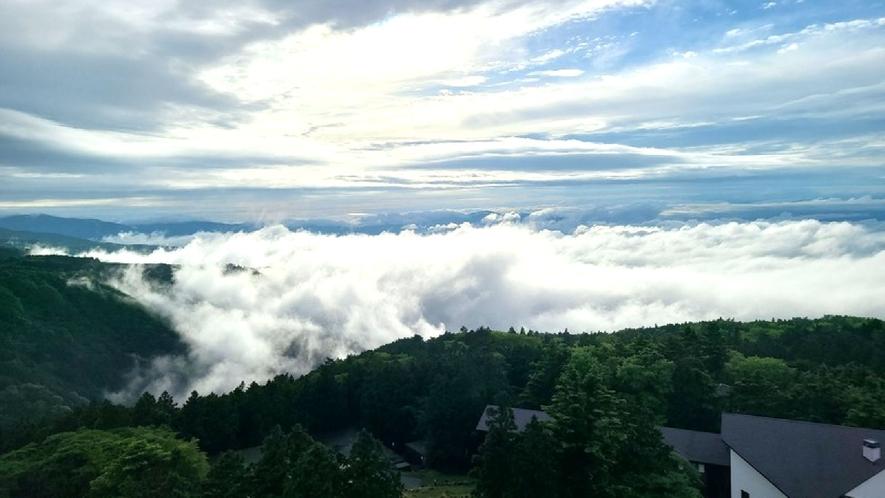 ☆【施設からの眺望】敷地内からの風景/天気が良い日には雲海が見えることも!