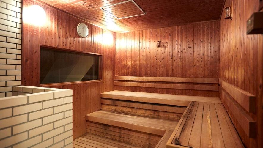 ☆【ドライサウナ】男性・女性浴場にご用意しております。