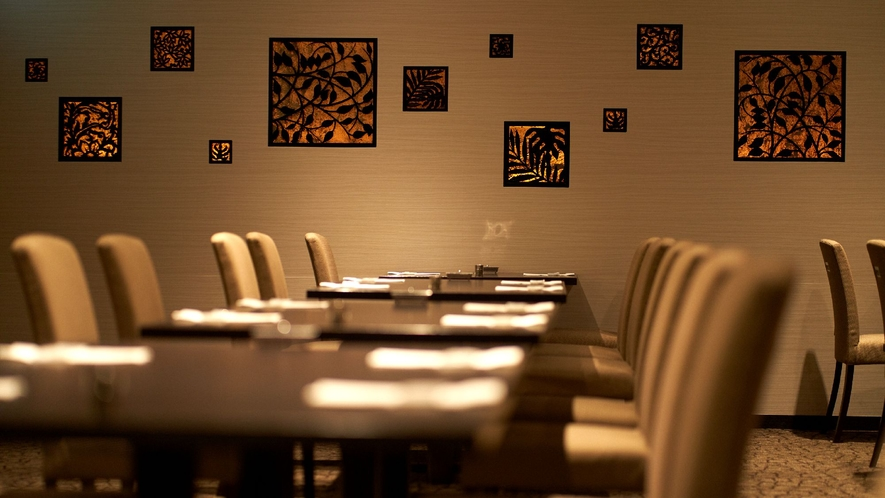 ☆【ブッフェレストラン】サンカラント/落ち着いた空間から絶品料理をお愉しみくださいませ。
