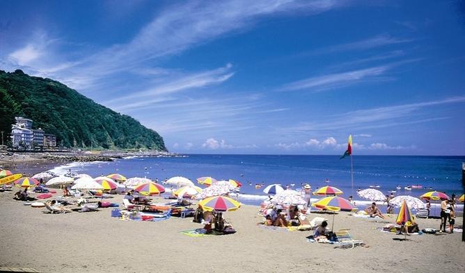 ◆2021夏だ!海だ!海水浴だ!温泉だ!夏休み早期予約で●●●●円もお得!◆海一望露天付部屋&部屋食