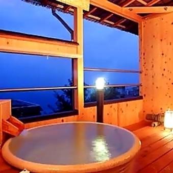 海側露天風呂付和室 E