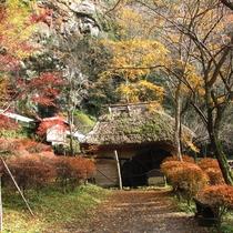 【周辺観光】高千穂峡/秋には美しい紅葉がみられます。