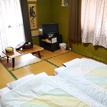 【客室】和室一例(6畳)