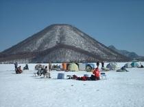 冬の榛名山