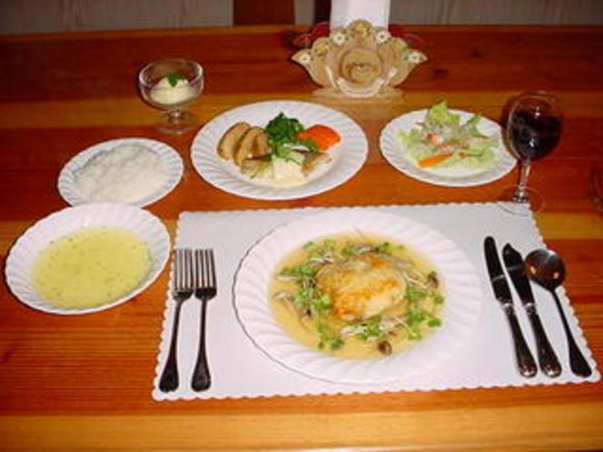 欧風フルコースディナー