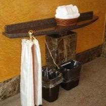 雨の日のサービス(玄関)