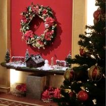 【ロビー装飾】クリスマス