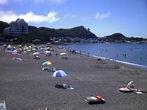 波左間ビーチ