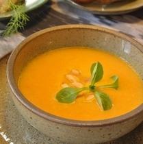 【スープ*日替わり】~人参とお野菜のスープ~