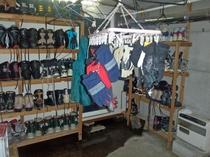 スキー置き場・乾燥室