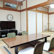 *和室13.5畳【BTなし】畳のお部屋での~んびり…ごゆっくりとお寛ぎ下さい(一例)