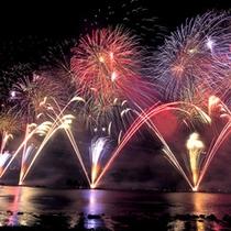 ■諏訪湖まつり湖上花火大会