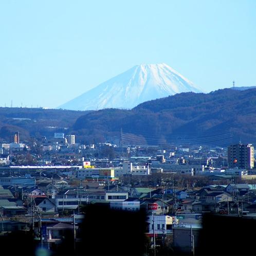 展望レストラン「スカイレイク」からの富士山