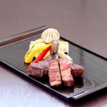 ■信州牛のステーキ