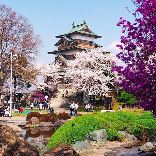 高島城(当館から徒歩約10分)