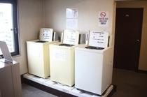 10階にランドリーコーナー<洗濯機>
