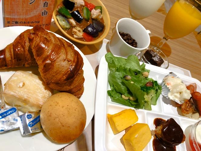 朝食モーニング (洋セット例)