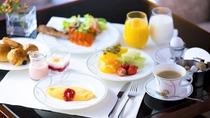 【クラブラウンジ】朝食  ※現在一時的に朝食のご提供を休止しております。