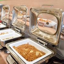 朝食バイキング/朝からがっつりスタミナをつけたい方にも◎