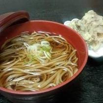 舞茸の天ぷら蕎麦
