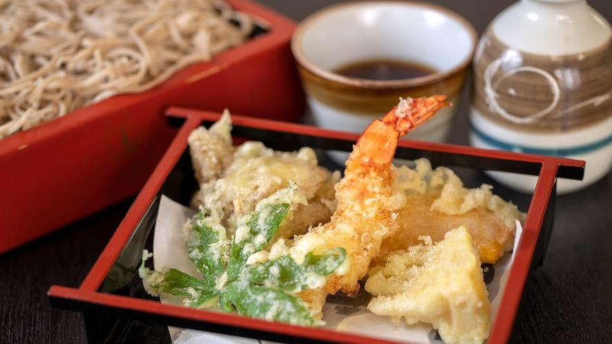 別注の天ぷらもおすすめです。