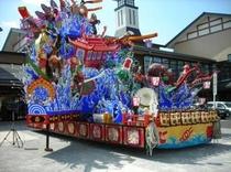 秋祭り山車