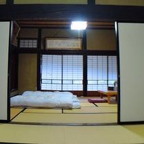 *【客室/曲がり家】和の情緒をたっぷりと感じられる客室でお寛ぎください。