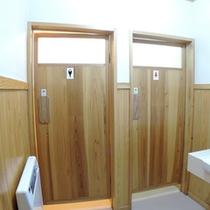 *【客室/曲がり家】トイレも複数完備。グループ旅行にもおススメです。