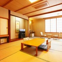 *【客室/新館12畳】畳の上で足を伸ばしてのんびりお過ごしいただけます。