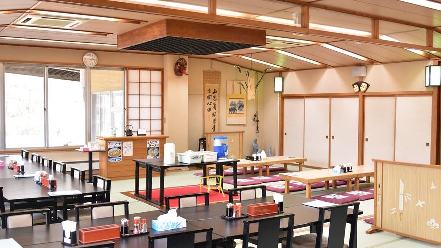 *【お食事処】夕食や朝食のお食事会場はこちらとなっております。
