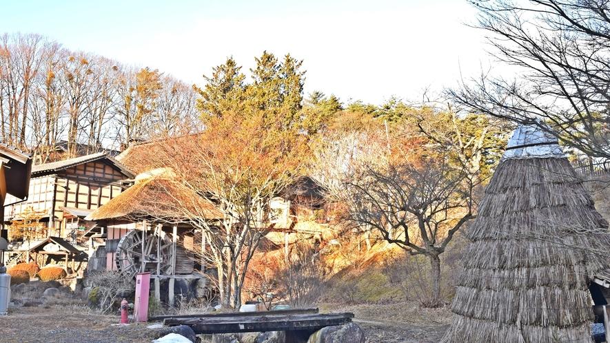 *【施設】敷地内には、水車小屋など遠野の原風景を大切にした施設が点在しています。
