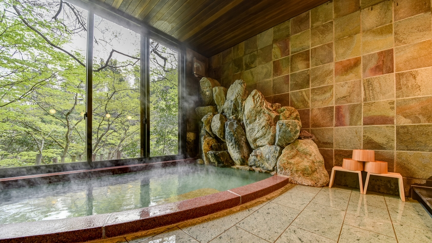 *【温泉浴場】肌に馴染む美容液のような温泉