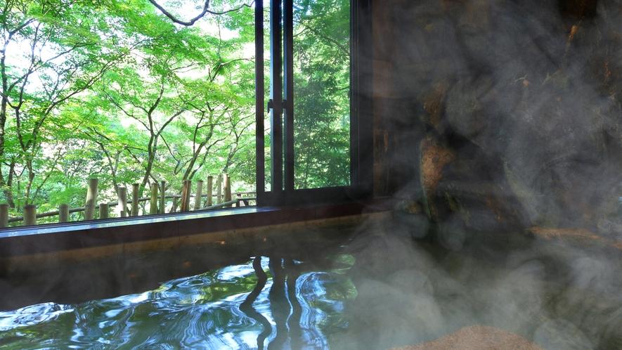 *【温泉浴場】四季の零れ入る光とともに