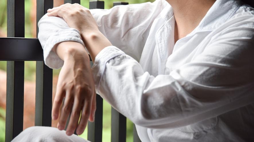 *【今治タオルのパジャマ】リノベーションルームのアメニティ