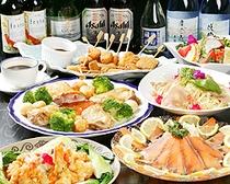 ご宴会用洋風コース 洋風の団体さまようのお食事もございます。
