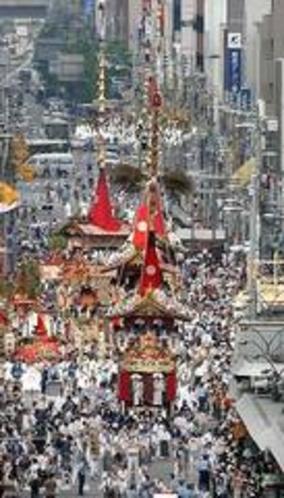 祇園祭の山鉾巡行・新町辻回しが当ホテルより至近でご覧になれます。